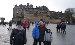 Castillo de Edimburgo.