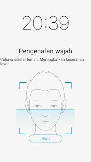 vivo y53 deteksi wajah