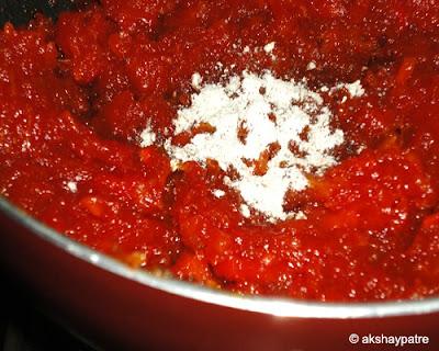 add cardamom powder to the jam