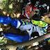 Ngetrail Bareng Pada HUT Bhayangkara Ke - 71, Bupati Momon Kecelakaan