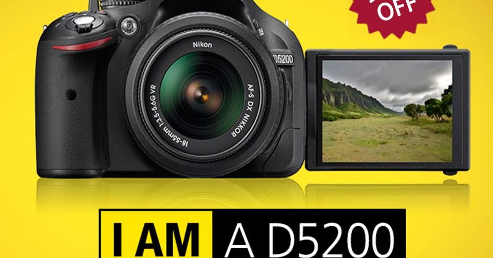 Online Shopping in Dubai: Shop Nikon D5200 - 24 1 MP, CMOS
