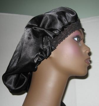 Six Twenty Seven  How to wear a Satin Bonnet in Public b0490fc2ca2e