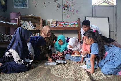 Ruang Baca Pengilon Kudus kenalkan anak-anak tentang profesi orang dewasa
