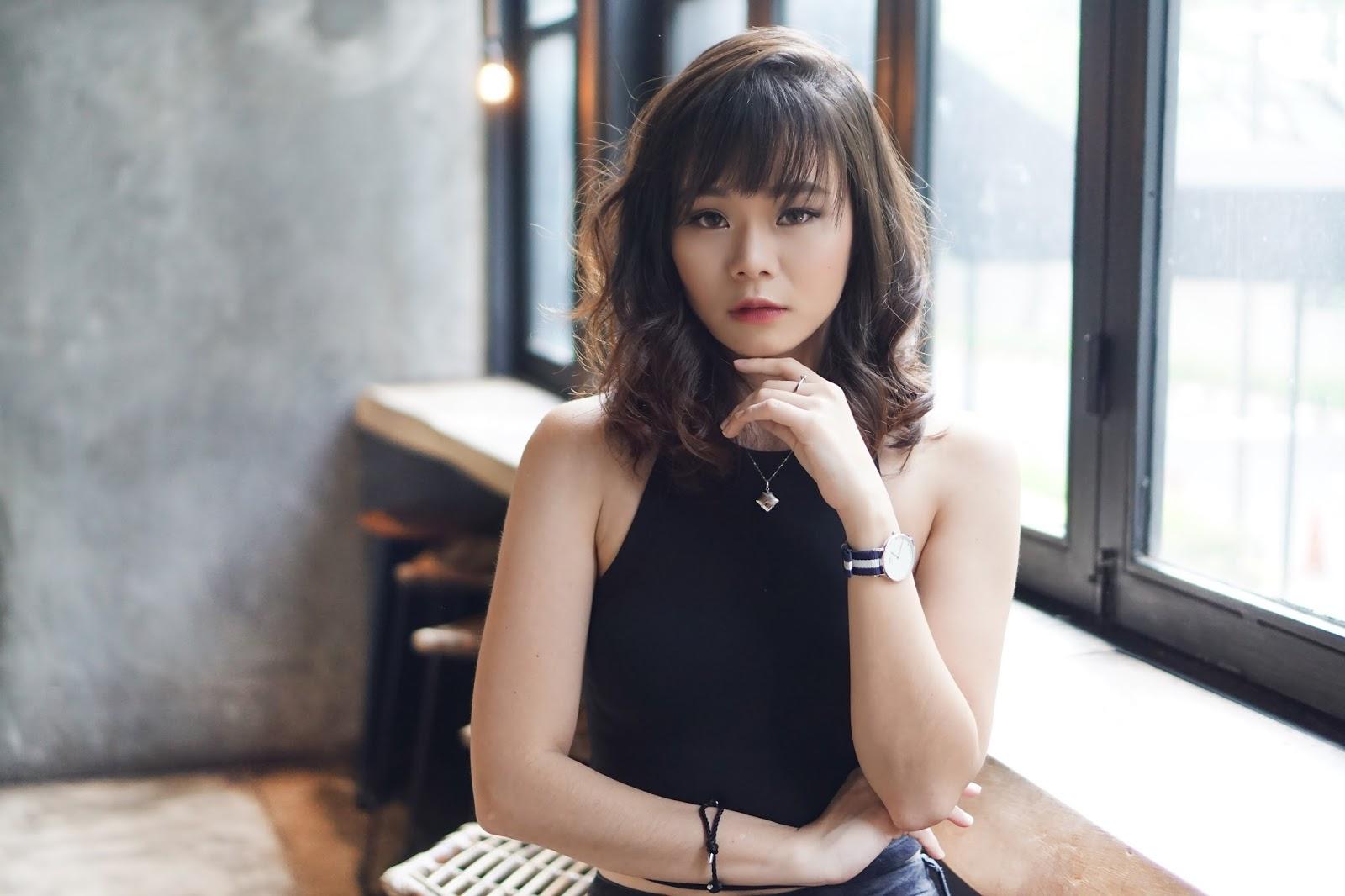 Rambut Gaya Korea Dengan Cushion Setting Ando Yun Salon Jean Milka Gunting Set Awalnya Agak Takut Sih Mutusin Untuk Pendek Aku Tadinya Sudah Hampir Sepunggung Tuh Tipe Yang Susah Dan Lama Banget