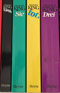 Buchrücken der Paperbacks