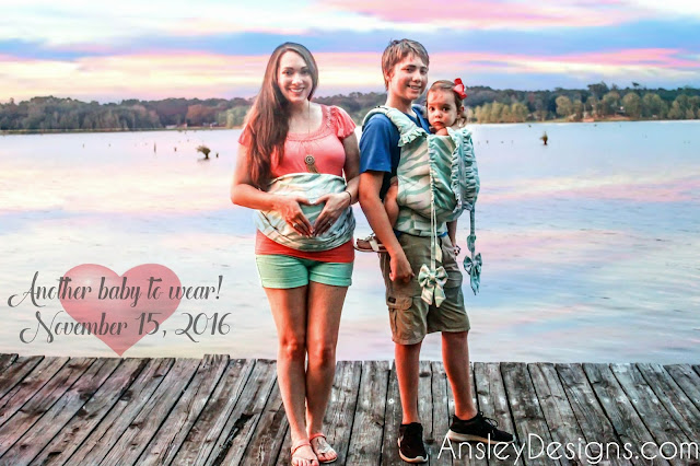 Tula Babywearing Pregnancy Announcement