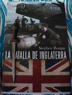 Portada del libro La batalla de Inglaterra, de Stephen Bungay