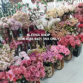 jual bunga artificial murah