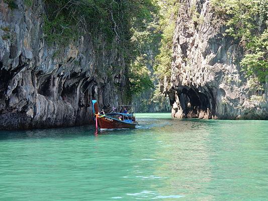 passeio barco hong island tailandia