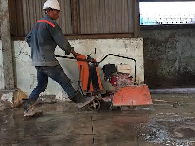 Khoan cắt bê tông tại huyện Cao Lãnh