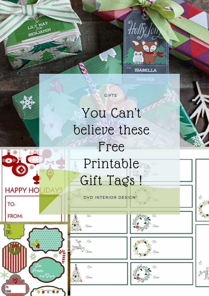 dvdInteriorDesign.com: Free Printable Christmas Gift Tags and Labels