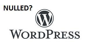 wordpress nulled script