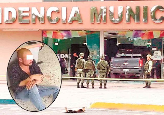 """CONVOY de SICARIOS del """"PELOCHAS"""" y el CDG ATERRORIZO ALCALDIA de RIO BRAVO"""