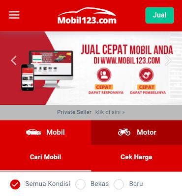 portal mobil123 milik iCar Asia Limited