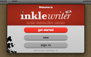 Screenshot de Inklewriter