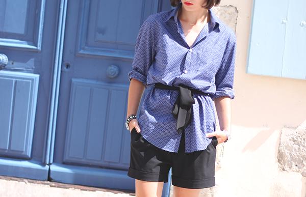 chemise bleue maison françois
