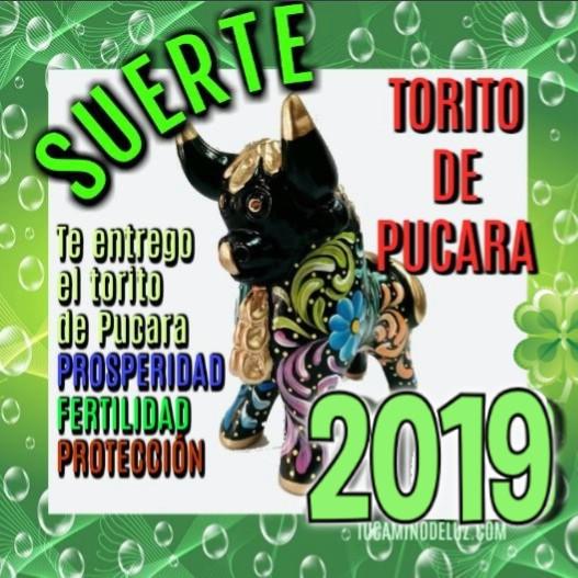 Suerte 2019 con  El Torito de Pucara