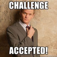 "марафон ""Challenge Accepted!"""