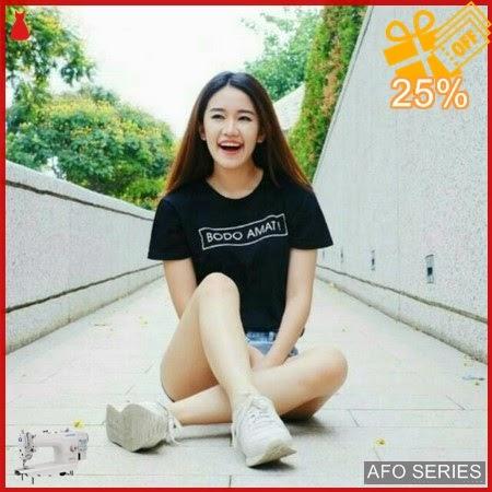AFO192 Model Fashion Bodo Amat Tee Modis Murah BMGShop