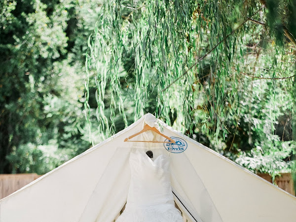 Black Tie Wedding in The Woods Part One: The Big White Dress