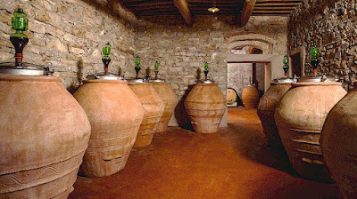 wine-making in terracotta jars from Terracotta Artenova