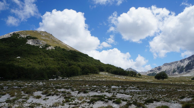 Loma, cielo azul, trekking Villa Traful, cerro Bayo