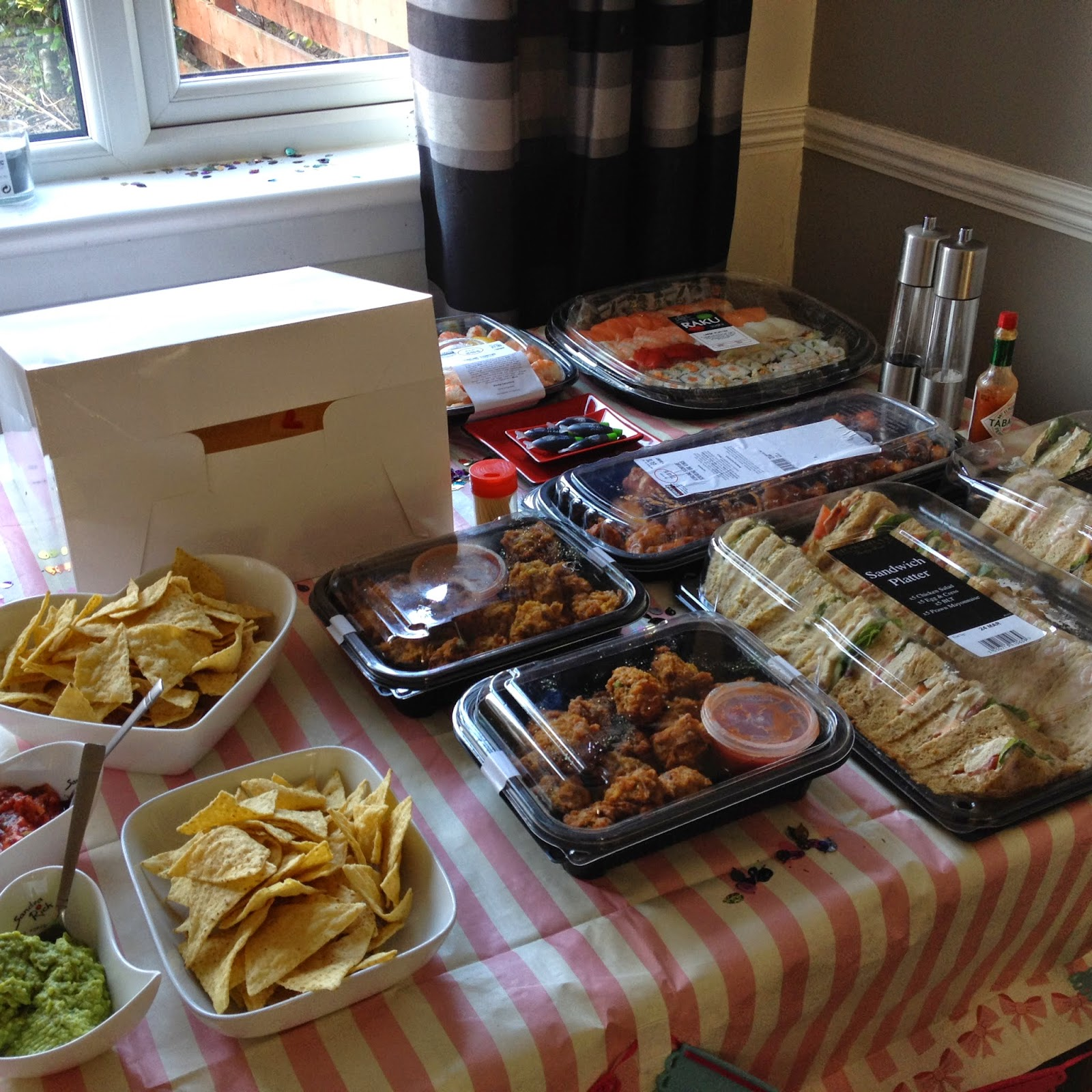Food, Food, Food, Love Food: Emily's 'Home' Hen Do