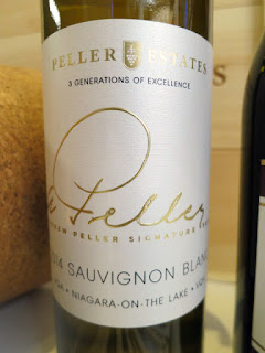 Andrew Peller Estates Signature Series Sauvignon Blanc 2014 - VQA Niagara-on-the-Lake, Niagara Peninsula, Ontario, Canada (90 pts)
