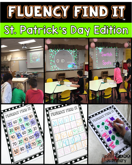 St. Patrick Day Fluency Find It