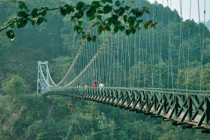 Suspension Bridge to Sikkim