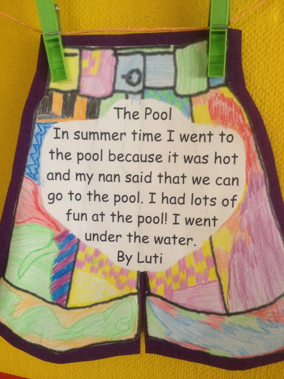Room 1 S Blog Short Summer Stories