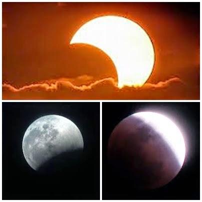 كسوف الشمس وخسوف القمر - موضوع عن   Mawdo3an