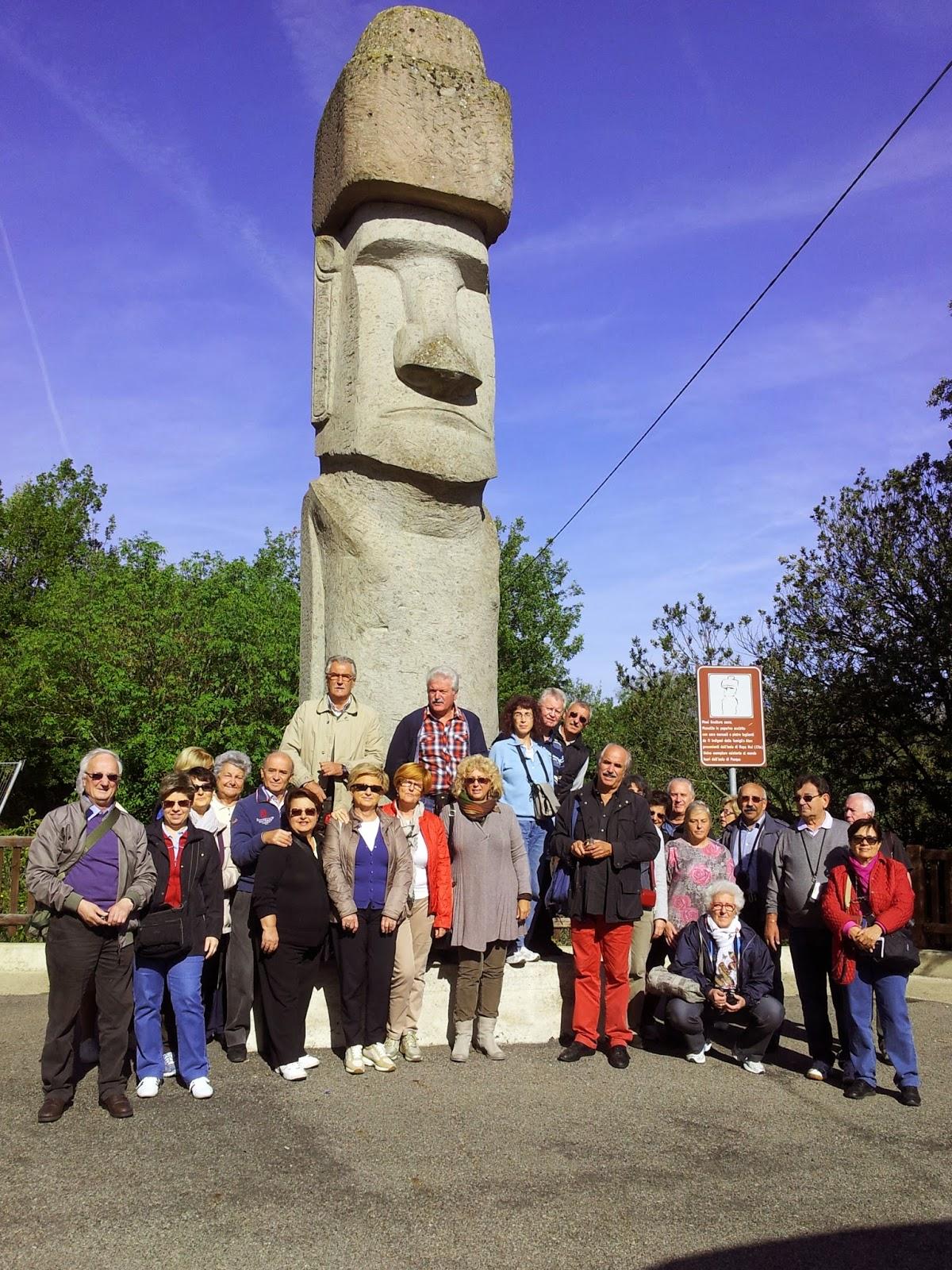 moai in italy