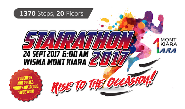 1 Mont Kiara Stairathon 2017 Coming Soon - Register Now!