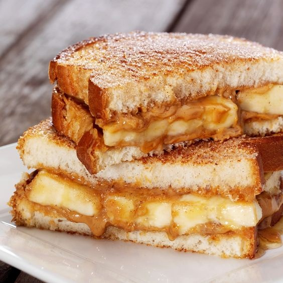 The Peanut Butter, Banana and Honey Sandwich