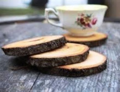 Cara Bikin Alas Panci / Gelas dari Bekas Dahan / Batang pohon