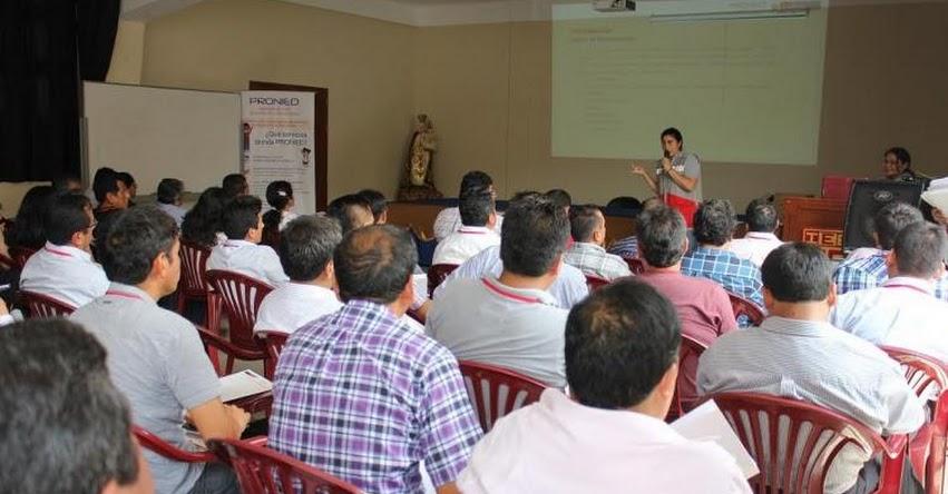 PRONIED capacitó sobre mantenimiento de colegios a más 200 especialistas de UGEL y DRE del país - www.pronied.gob.pe