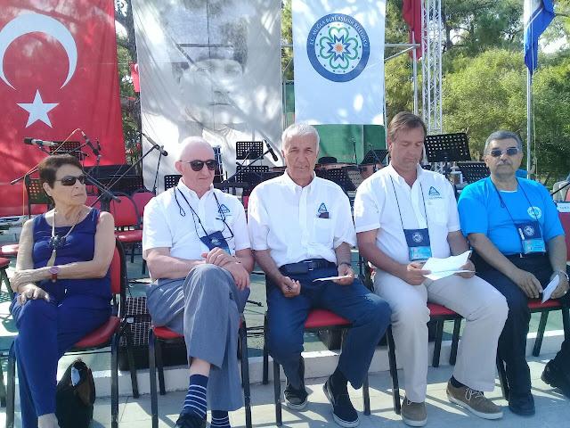 Clausura del 85º Encuentro Internacional FICC, Datça, Turquía, 2017