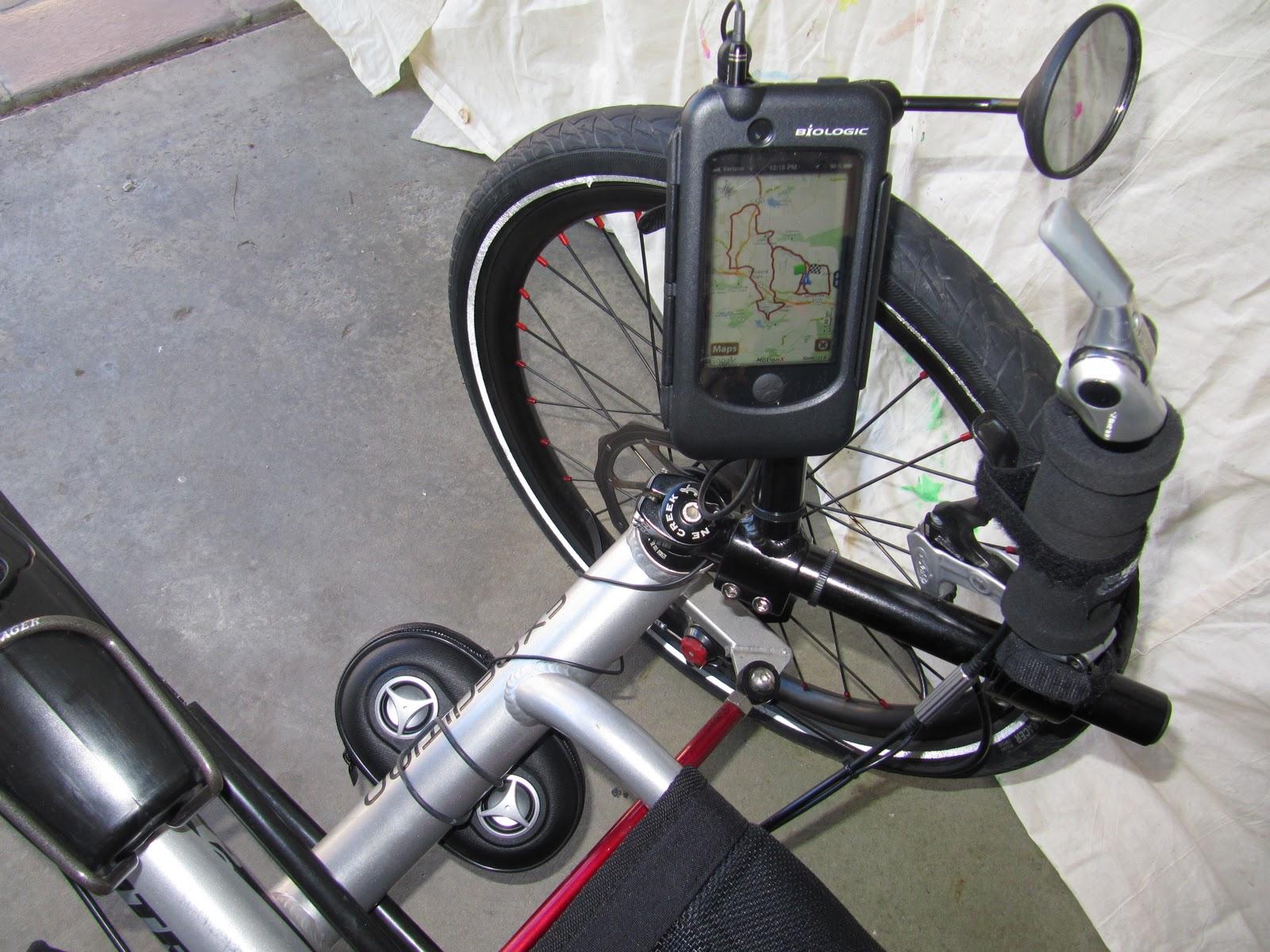 Recumbent Trike Accessory Mount