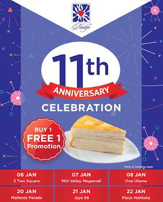 Nadeje Cake Shop Buy 1 Free 1 Promo