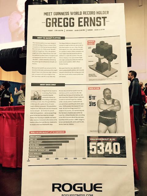Gregg Ernst Backlift World Record.  StrengthFighter.com