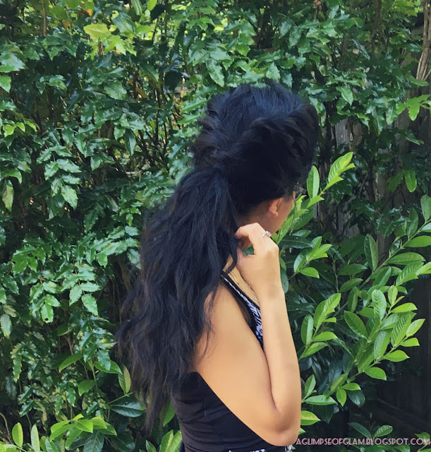 Twist Braid Ponytail - Andrea Tiffany aglimpseofglam