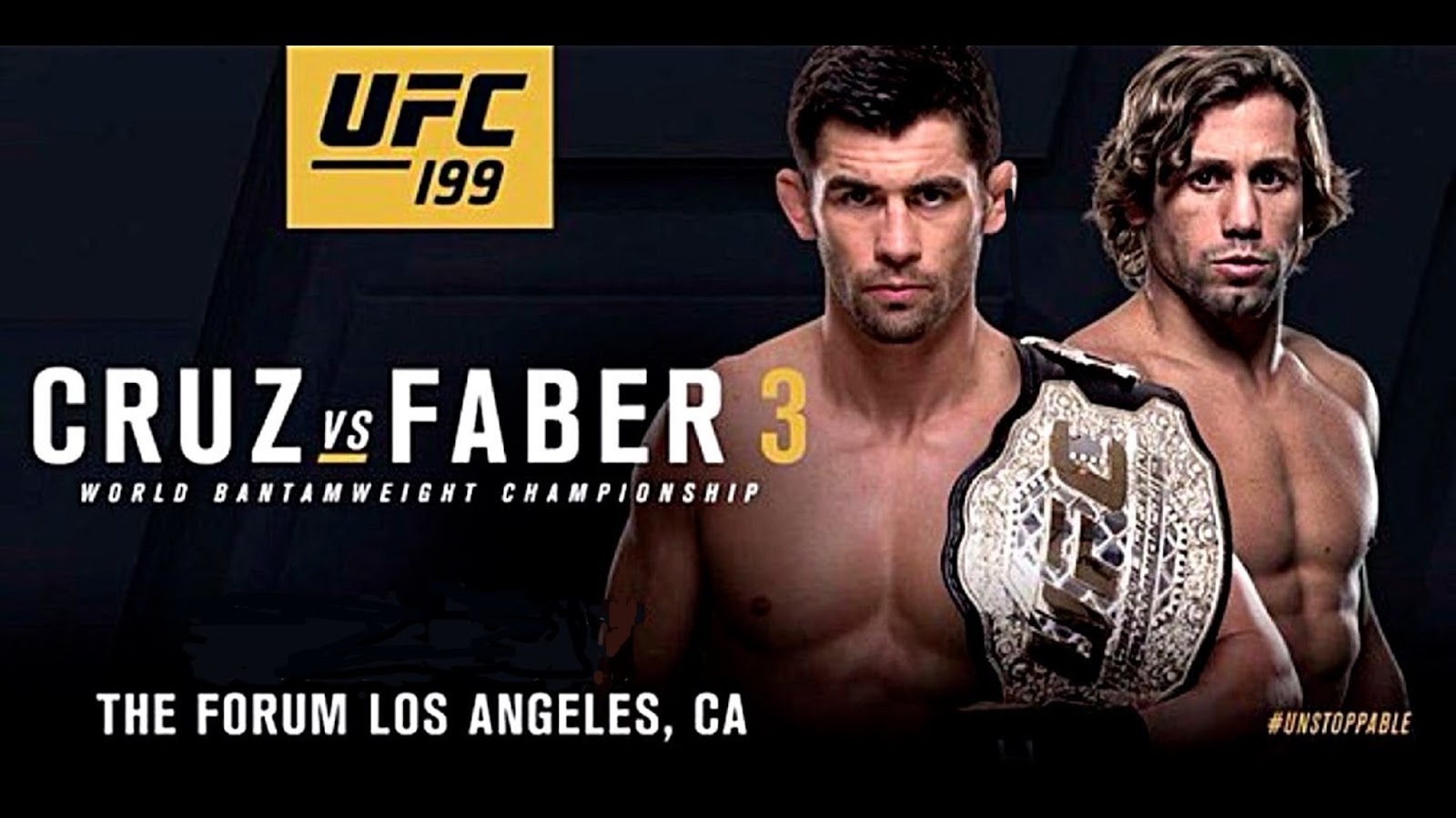 DOMINICK CRUZ VS. URIJAH FABER