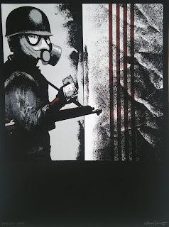 Antoni Miró arte denuncia social Dólar soldado