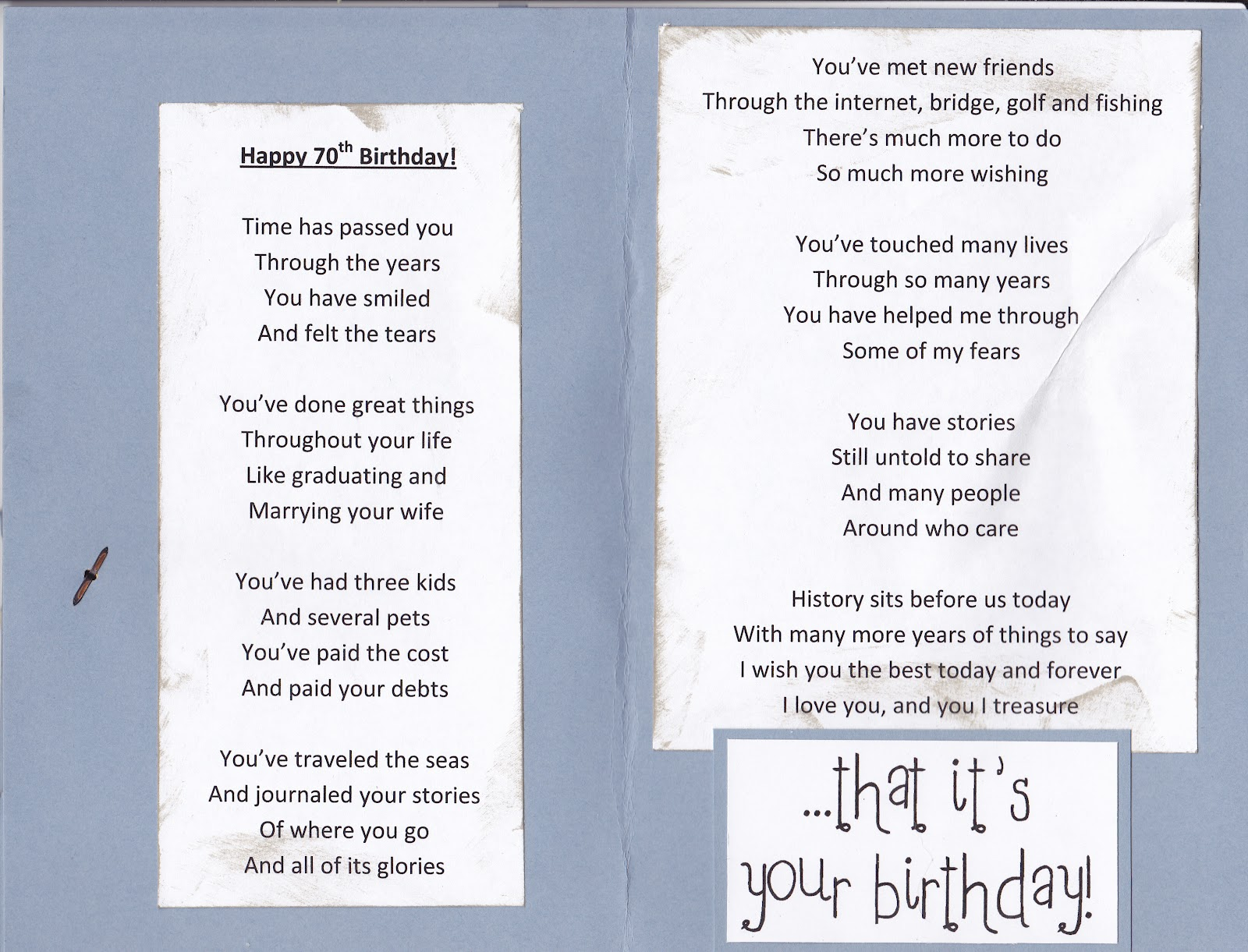 dad birthday poems - photo #25