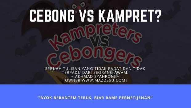 Cebong vs Kampret