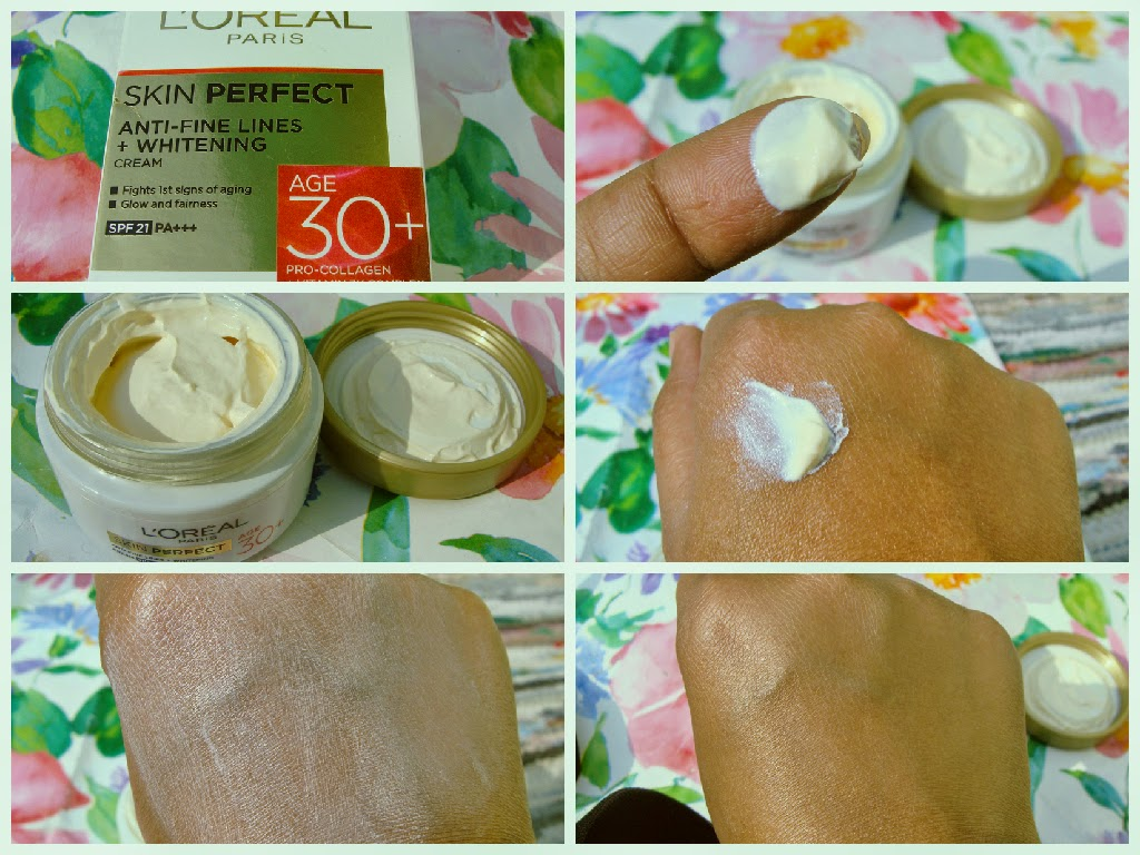 L'oreal Paris Skin Perfect Anti- Imperfections + Whitening Cream 30+