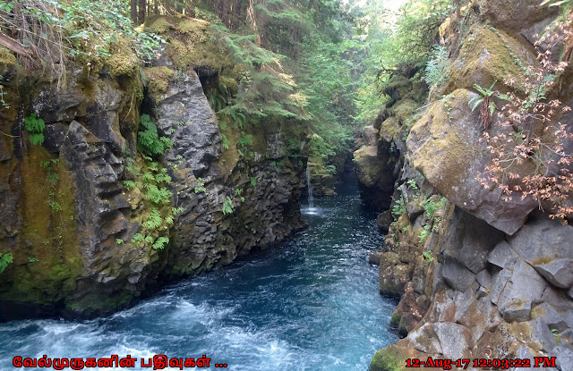 North Umpqua River Tokette Waterfalls