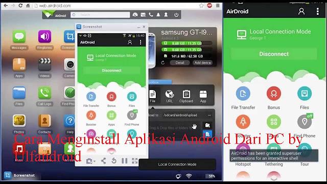 Cara Menginstall Aplikasi Android Dari PC
