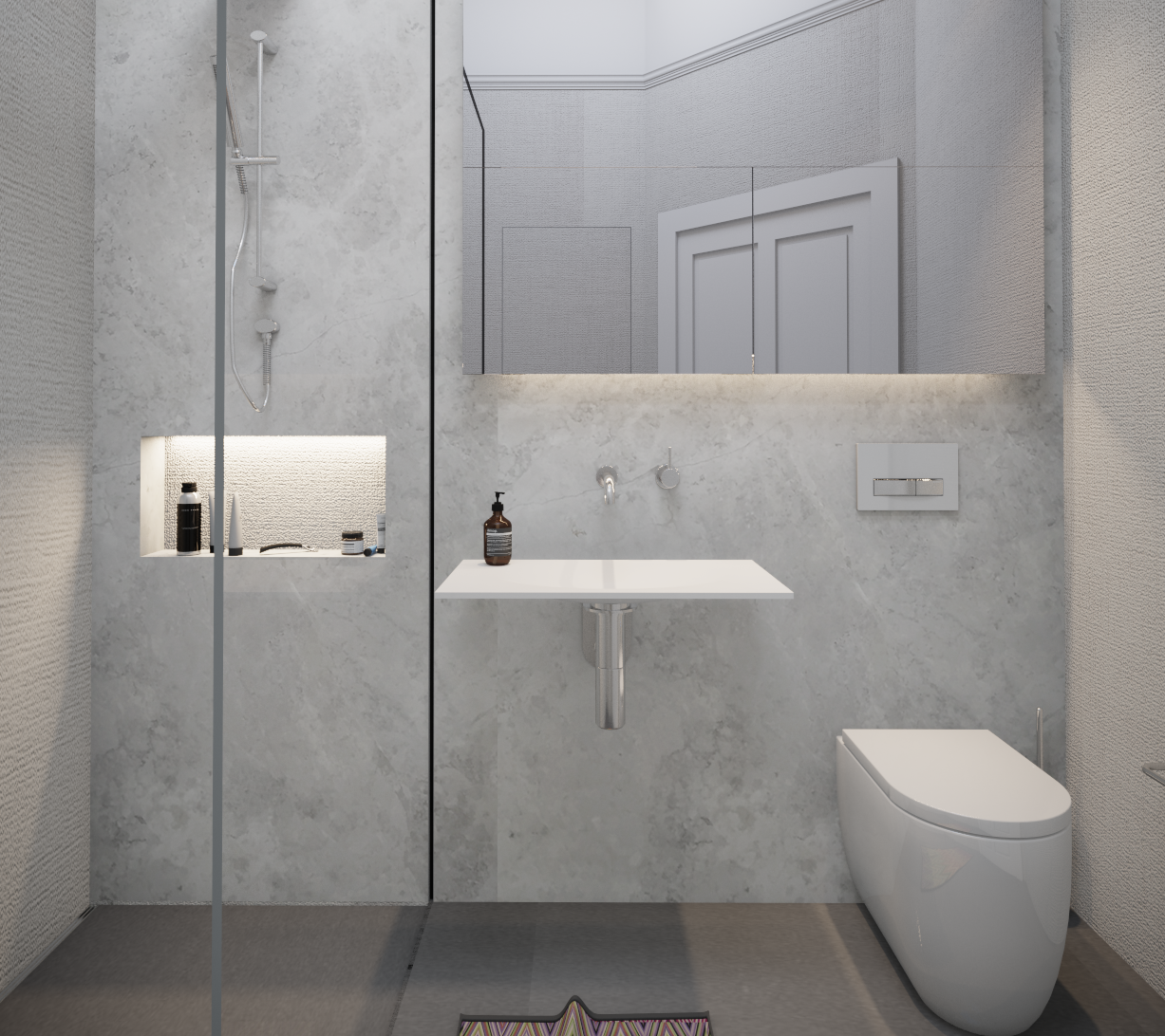 Minosa: Small Bathroom